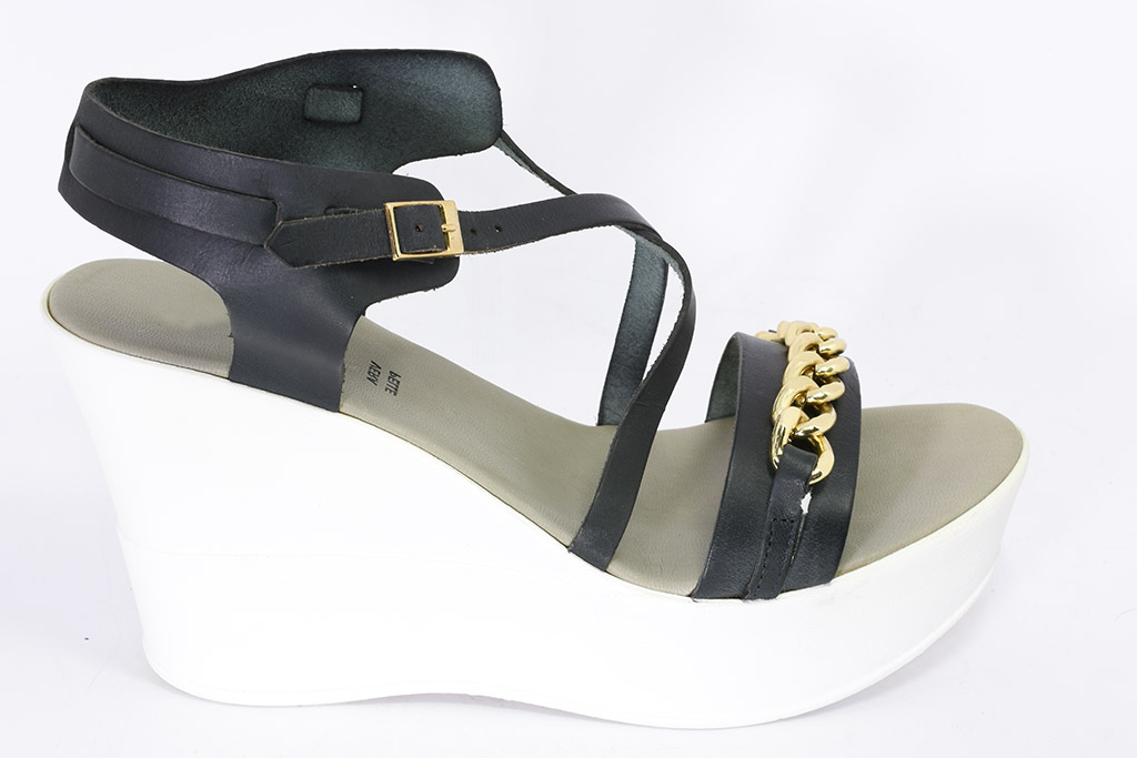 Zeppa Sandalo FuoriSara PShoes Sandalo Zeppa Gomma XOPkiulwZT