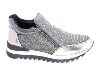 Sneakers laminate con cerniere