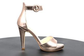Sandalo alto laminato tacco 12