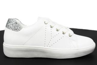 Sneakers bianche con brillantini