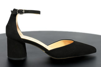 Sandalo in vera pelle tacco comodo