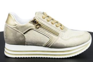 Sneakers da donna doppia cerniera