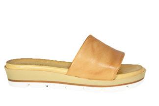 Sandalo ciabatta in vera pelle