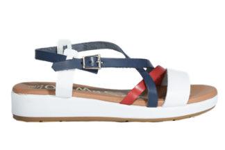 Sandalo basso multi colore