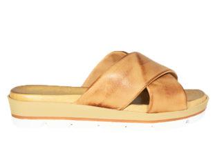 Sandalo in vera pelle due fasce
