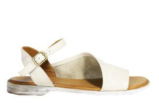 Sandalo basso con fibbia