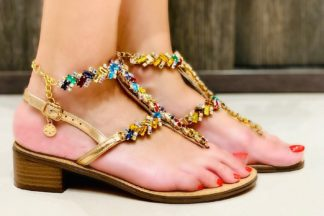 Pshoes Sandalia Coloratesara Fashion Positano Stones Con C4js5rlq3a QrhCxtsd