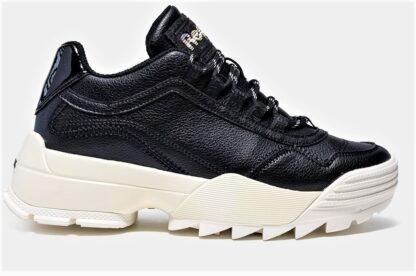 Sneakers nere suola alta
