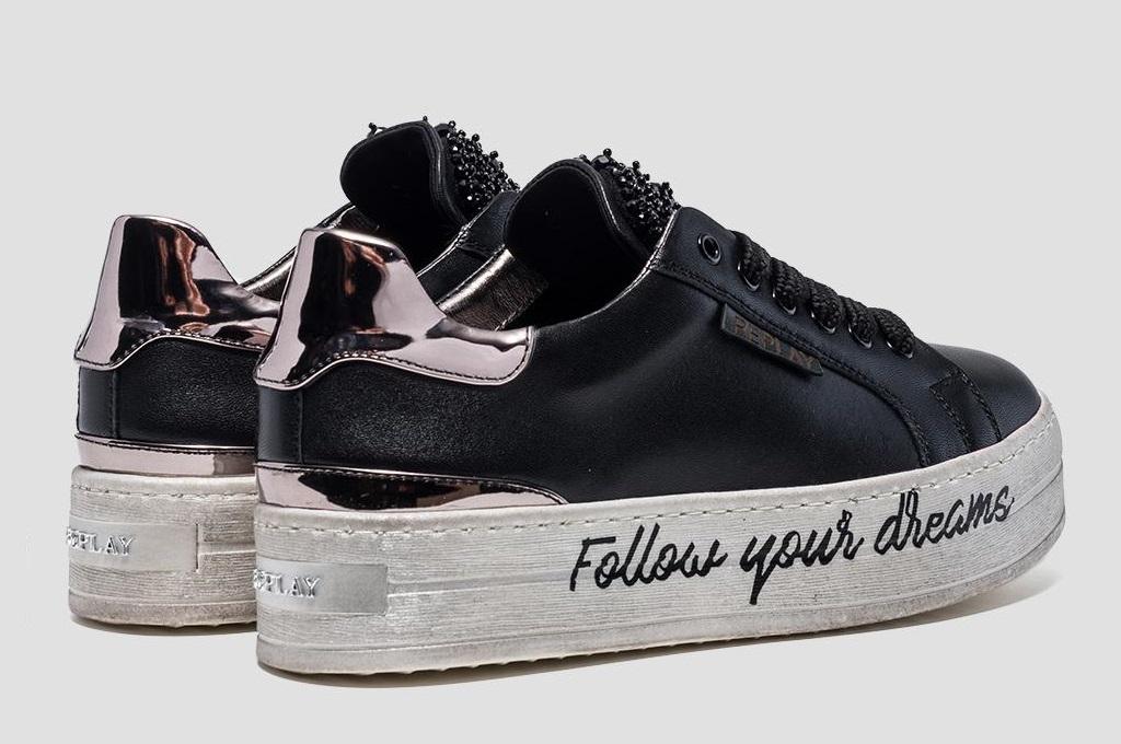 the latest f03e5 98984 Sneakers nere da donna