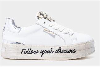 Sneakers bianche da donna