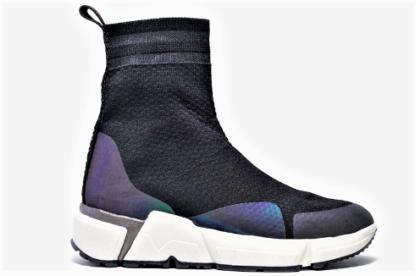 Sneakers da donna calzino