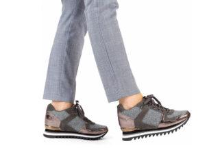 Sneakers da donna grigio