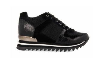 Sneakers da donna nero
