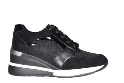 Sneakers zeppa brillantini