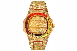 Diamond watch gold