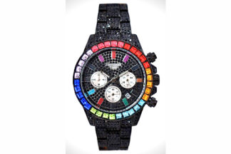 Diamond chrono black