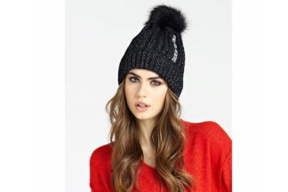 cappello nero guess