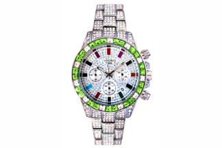 Diamond chrono ice green