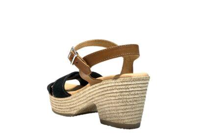sanadli oh my sandals nero con tacco (2)