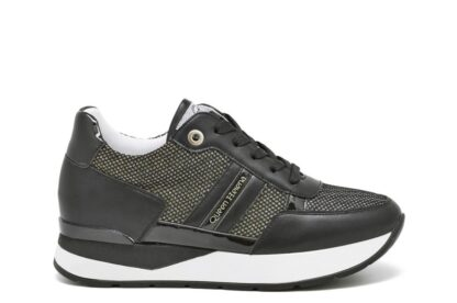 Sneakers lacci Queen Helena Nere
