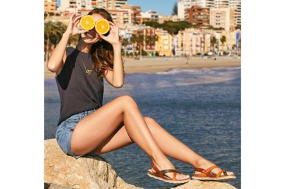 Sandalo donna cuoio Yokono Chipre 718 sandali per donna comodi (1)
