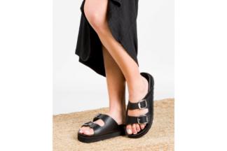 Sandalo donna nero Yokono Ifach 001