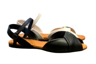 Sandalo basso Nappa Vera Pelle scarpe epochè collezione estiva (3)
