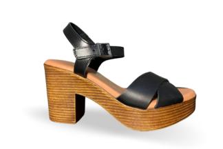Sandalo donna cuoio Adry - oh! my sandals sandalo con tacco comodo nuova collezione estate (1)