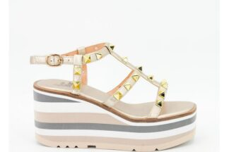 Sandalo Oro con Zeppa Greta Alma Blu 39563 v21bl7402 sandalo alma en pena (1)