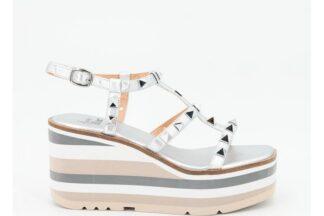 Sandalo argento con Zeppa Greta Alma Blu 39563 v21bl7402 sandalo alma en pena (1)