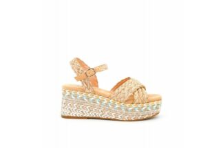 Sandalo con Zeppa Oneka Alma Blu 39541 sandalo da donna elegante (1)