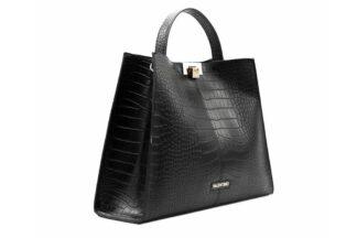 Borsa Nera Valentino Linea Anastasia Grande borsa da donna elegante (2)