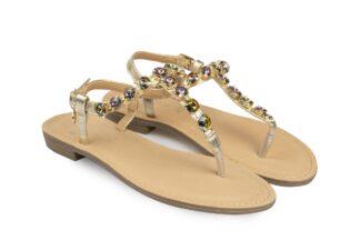 Sandalo Gioiello Multicolor Odette sandali gioiello per la donna comodi (2)