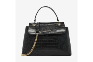Borsa Shopping Nera Valentino Linea Amaranth borse valentino bags (1)