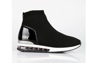 Sneakers Nere a calzino Isotta scarpette sportive da donna (1)