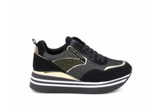 Sneakers con lacci Queen Helena Nere Marcell scarpe sportive comode da donna